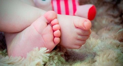 bebek ayakları