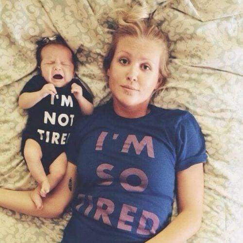 Yorgun bir anne olmanın tehlikeleri