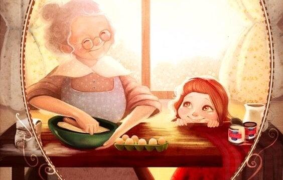 Bir Büyükanne Torununu İlk Kez Gördüğünde