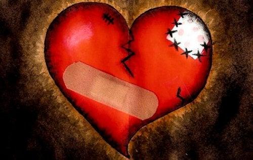 yaralı kalp grafiği