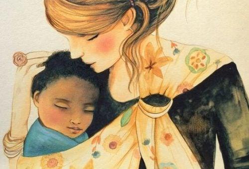 Hem çalışan hem de çocuğuyla ilgilenen anneler