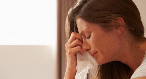 Anneler de ağlar: korku, stres veya yorgunluk yüzünden