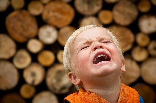 bağıran sarışın çocuk