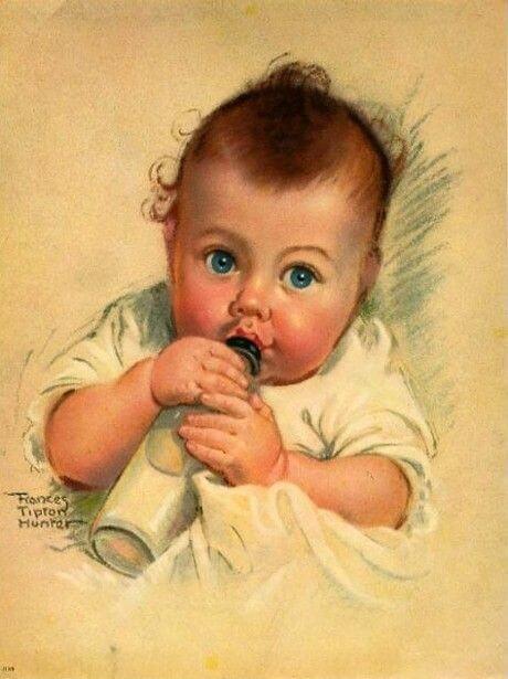 biberonlu bebek