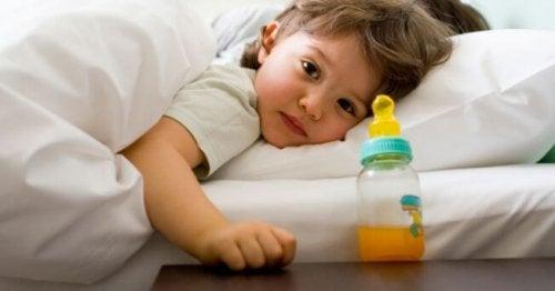 biberon ve bebek
