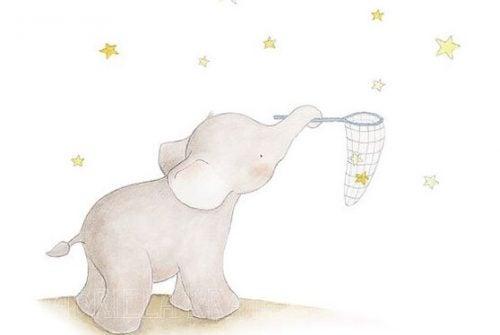 yıldızlar ve fil