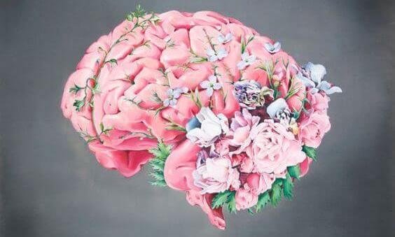 çiçek ve beyin