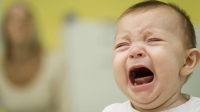ağlayan bağıran bebek
