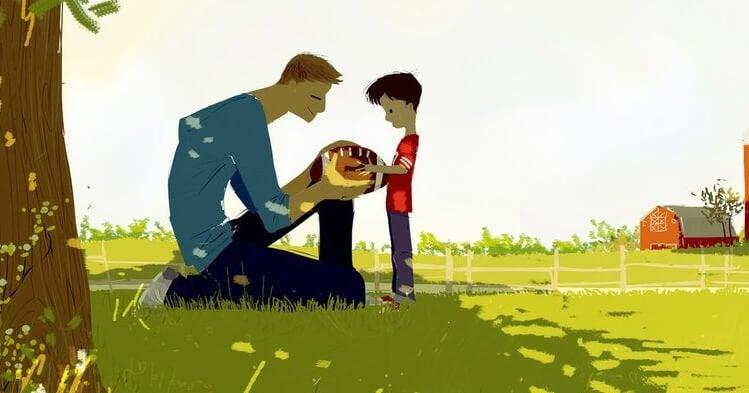 baba oğul oyun