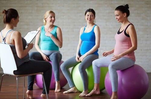 hamile kadınlar ve pilates