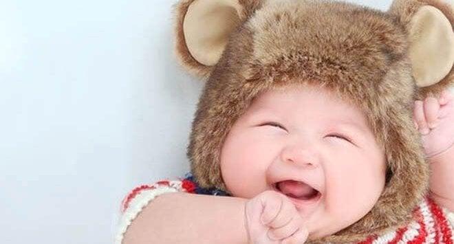 ayıcık bereli bebek