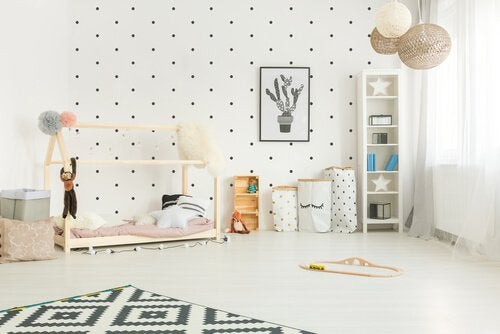 Çocuk Odasını Dekore Etmek İçin Montessori Yöntemi