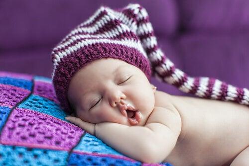 Uykuda bebek