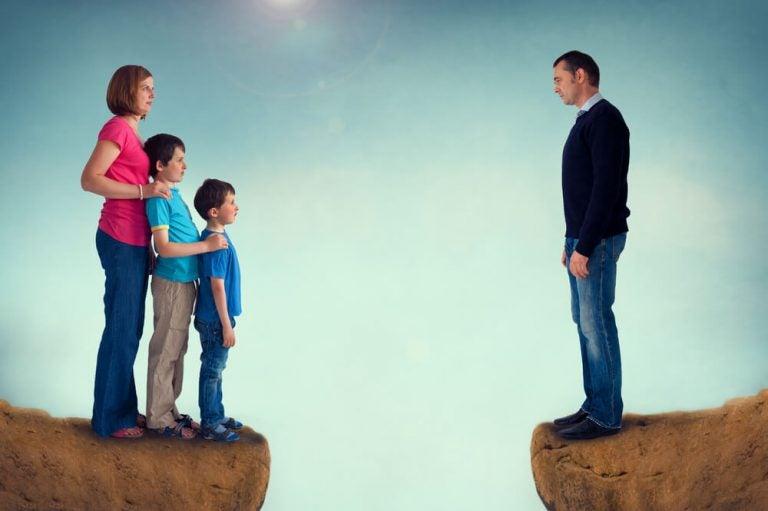 boşanmış aile
