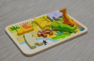 kartondan hayvan oyuncakları