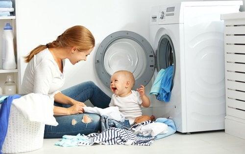 Bebek Giysileri Yıkamak İçin 7 ipucu