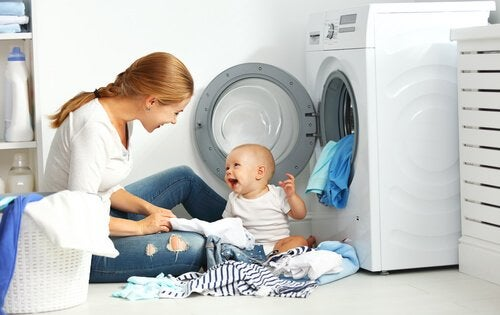 bebek giysileri yıkama