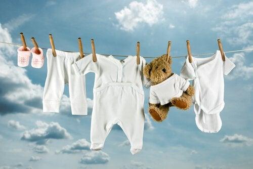 bebeğinizin giysilerini yıkama