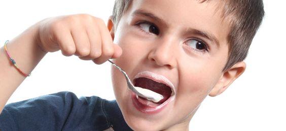 çocuk yoğurt
