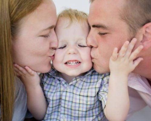 çocuk ve ebeveynleri