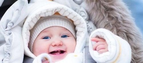 Bebeğinizi Sıcak Tutmak için 4 Tavsiye