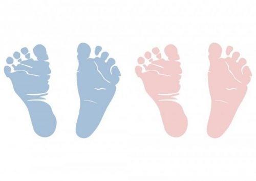 bebek ayak izleri