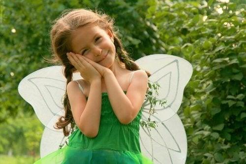 mutlu kız