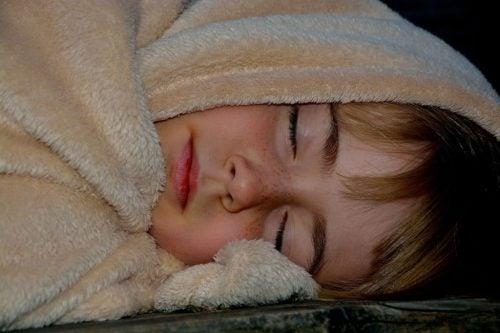 uyuyan çocuk