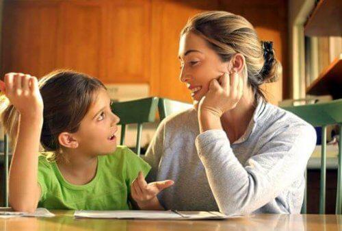 anne çocuk iletişimi