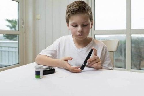 ilaç alan çocuk