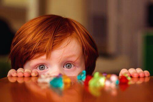 kızıl saçlı çocuk
