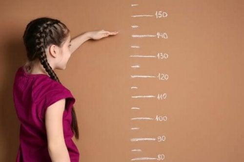 duvarda boy ölçme