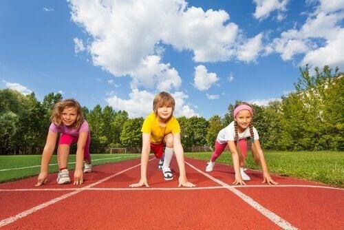 çocuklarda spor