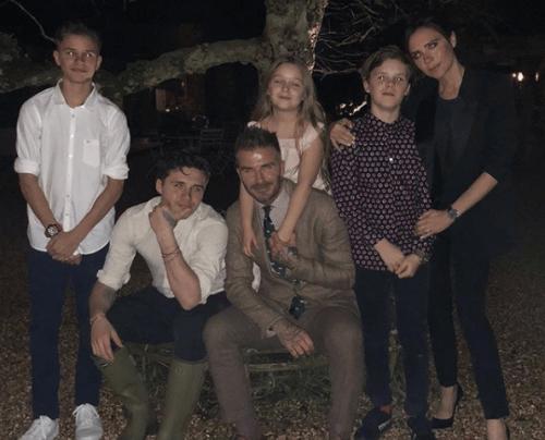 beckham ailesi