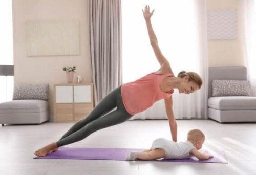 Doğum Sonrası Dönemde Egzersiz Yapmanın En Etkili Yolları