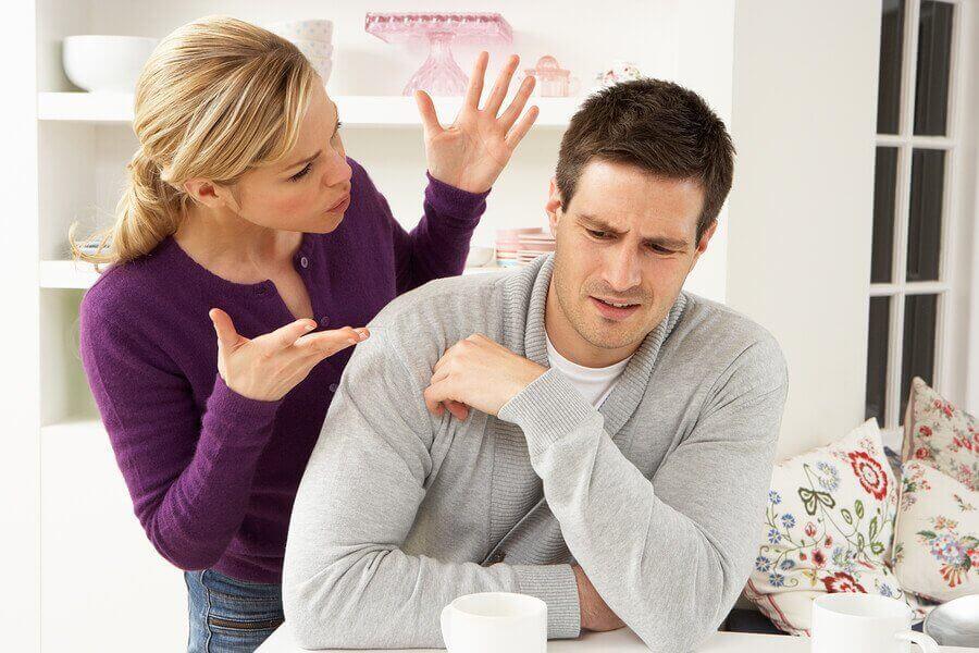 partnerle tartışmak