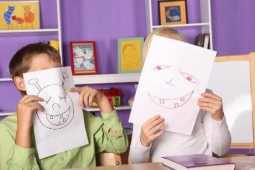 Yaratıcı çocuk resimleri