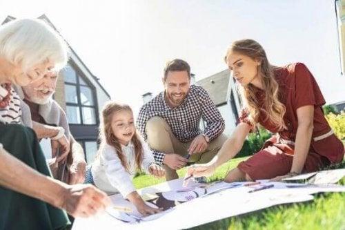 Çocuklarınızla Bir Aile Ağacı Hazırlamak