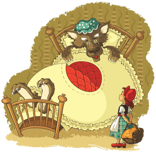 Grimm kardeşler ve kırmızı başlıklı kız