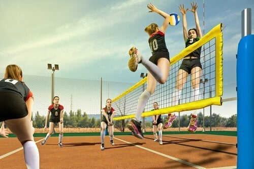 voleybol oynamak