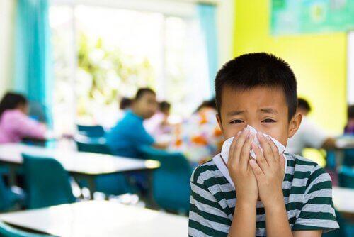 Okula Giden Çocuklarda 7 Bulaşıcı Hastalık