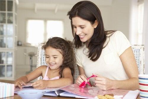 anne kız el işleri