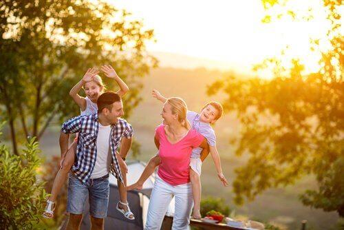 açık havada aile aktiviteleri