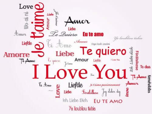 Farklı dillerde seni seviyorum