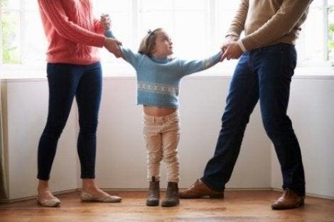 Ebeveynlerin ayrılması ve çocukların velayeti