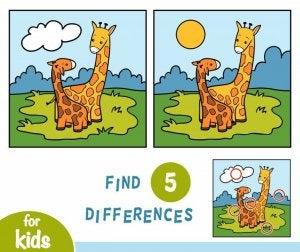 Farkları bulma oyunu
