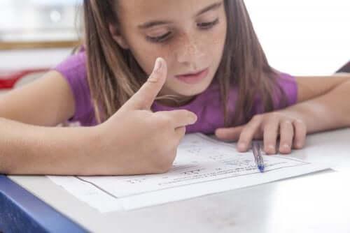 Çocuklarda Matematik Problemleri Çözme Sorunları