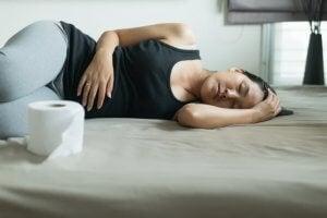 Hamile kadın kabızlık