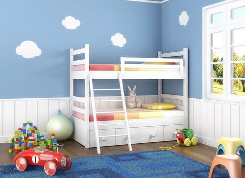 Çocuklarınız için Ortak Yatak Odası Dekorasyon Fikirleri