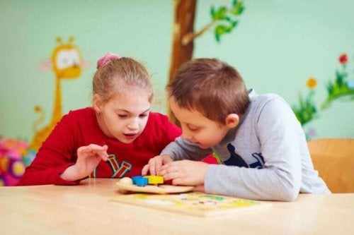 özel ihtiyacı olan çocuklar sınıfta